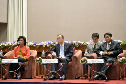 Secretary-General Speaks at Roundtable on Universal Health Coverage