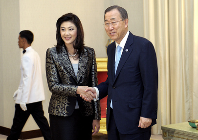 Secretary-General Meets Thai Prime Minister in Bangkok