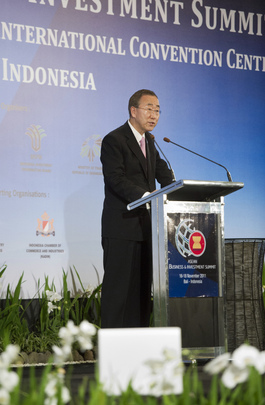 Secretary-General Attends ASEAN Business Summit in Bali