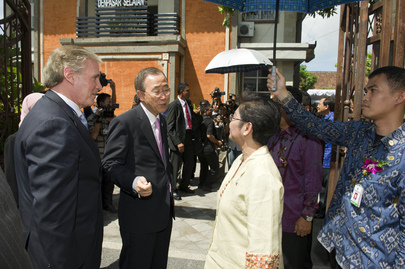 Secretary-General&#039;s Visit to Bali Health Centre Focuses on Women, Children