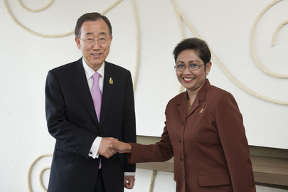 Secretary-General Meets Health Minister of Indonesia