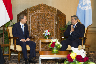 Secretary-General Meets President of Indonesia in Bali