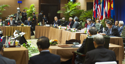 Secretary-General Attends East Asia Summit in Bali