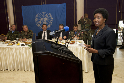 Deputy Secretary-General Visits UNIFIL