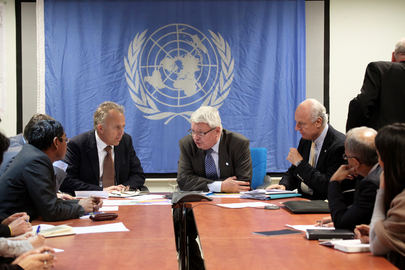 UN Peacekeeping Chief Meets UNAMA Team in Kabul