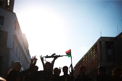 "Libya Celebrates ""Tripolitanian Republic"" Declared against Colonial Rule"