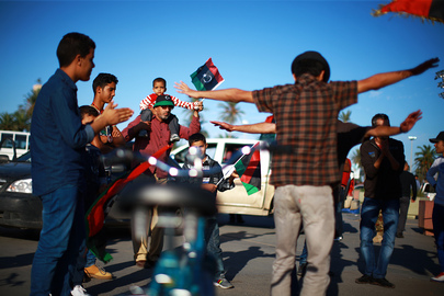 "Libya Celebrates ""Tripolitanian Republic"" Declared against Colonial Rule"
