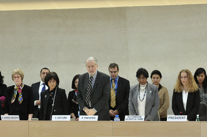 Rights Council Mourns Colleague's Passing