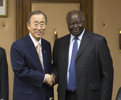 Secretary-General Meets President of Kenya in Nairobi