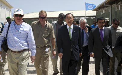 Secretary-General, Assembly President Visit UN-A.U. Base in Mogadishu