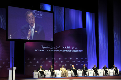 Secretary-General Speaks at Alliance of Civilizations Forum in Doha