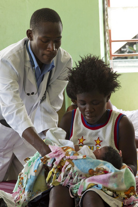 UN Helps Improve Access to Maternal and Child Health Care in Haiti