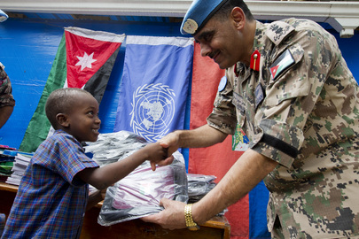 Peacekeepers Donate School Supplies to Haitian Children in Need