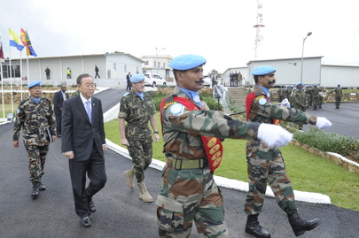Secretary-General Visits UN Peacekeeping Mission in Lebanon