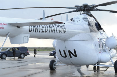 Secretary-General Takes Off for Naqoura, Lebanon