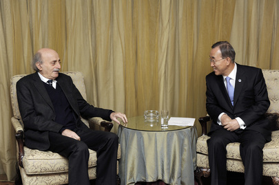 Secretary-General Meets Head of Lebanese Progressive Party