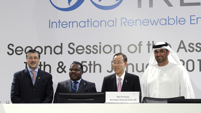 Secretary-General Attends Renewable Energy Assembly in Abu Dhabi