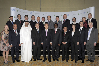 Secretary-General Meets Sustainable Energy for All Group in Abu Dhabi
