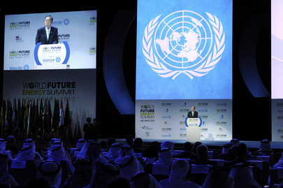 Secretary-General Addresses Energy Summit in Abu Dhabi