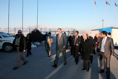 New Special Representative for Afghanistan Arrives in Kabul