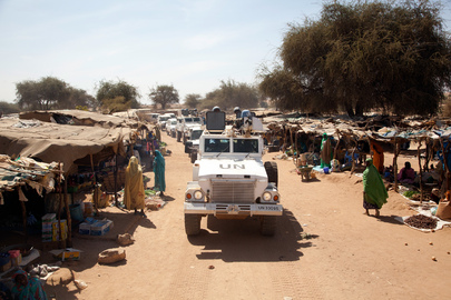 UNAMID Chief Visits Displaced in Kutum, North Darfur