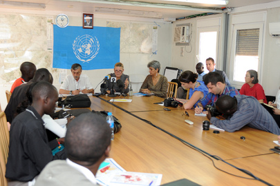 Deputy Special Representative for South Sudan Briefs on Displaced in Jonglei