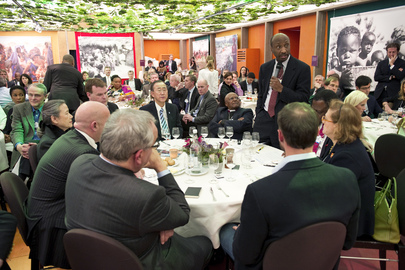 "Business Leaders Imagine ""A Better World For Women and Girls"" at Davos Event"