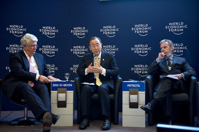 Secretary-General Speaks at Rio+20 Event in Davos