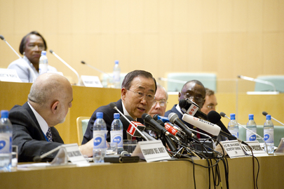 Secretary-General Briefs Press in Addis Ababa