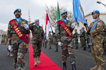Change of Command at UN Mission in Lebanon