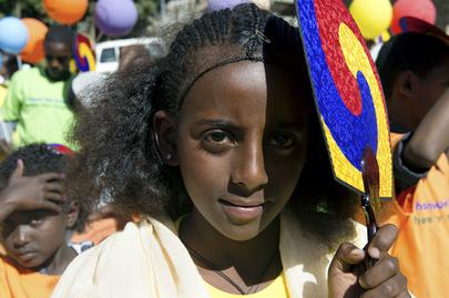 Secretary-General Opens Children's Library in Addis