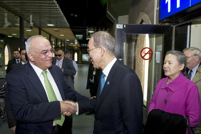 Secretary-General Arrives in Amman, Jordan