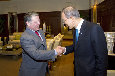 Secretary-General Meets King Abdullah II of Jordan
