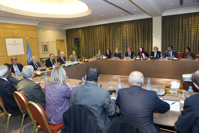 Secretary-General Meets UN Country Team in Jordan