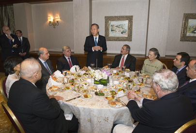 Secretary-General Attends Dinner Hosted by Jordanian Foreign Minister