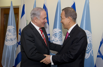 Secretary-General Meets Israeli Prime Minister in Jerusalem