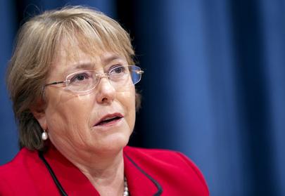 Michelle Bachelet vê barreiras para a igualdade de gêneros no esporte