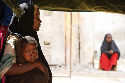 AMISOM Provides Free Medical Services to Displaced Somalis