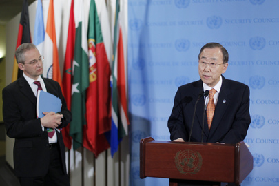 Secretary-General Briefs on Syria, Mideast Peace Process and Sudan-South Sudan Relations