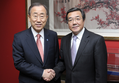 Secretary-General Meets Head of International Maritime Organization