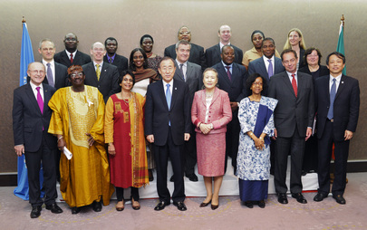 Secretary-General Meets Zambia UN Country Team