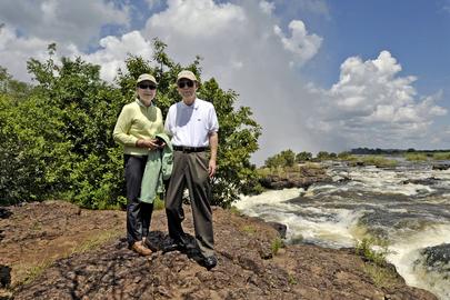 Secretary-General Visits Victoria Falls