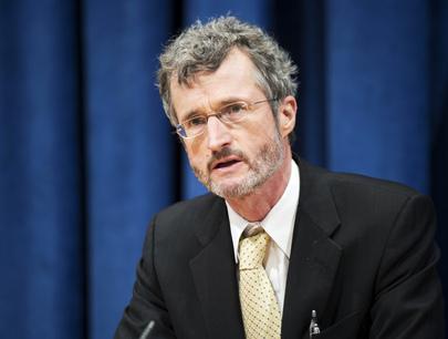 Diretor Executivo doPacto Global, Georg Kell (ONU/Mark Garten)