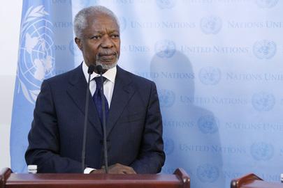 Kofi Annan renuncia como Enviado da ONU e da Liga Árabe para a Síria