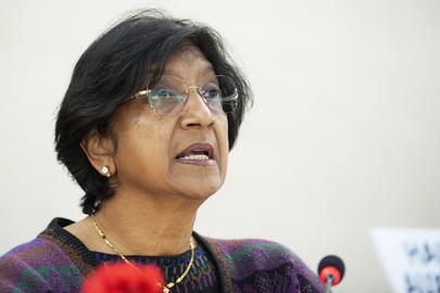 Declaração da Alta Comissária das Nações Unidas para os Direitos Humanos, Navi Pillay, para o Dia dos Direitos Humanos – 10 de dezembro de 2012. (ONU/Jean-Marc Ferré)