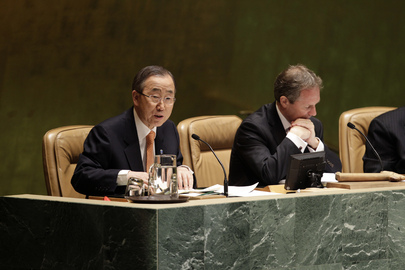 Secretary-General Reports to Assembly on Syria