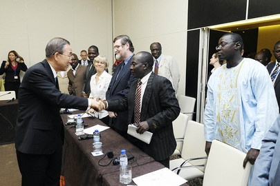 Secretary-General Meets Representatives of Angolan Civil Society
