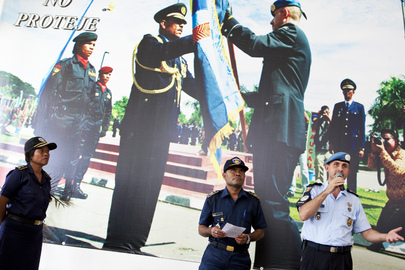 Timorese Police Honours Female Officers on International Women's Day