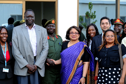 Special Representative Renews Agreement with SPLA to End Child Recruitment