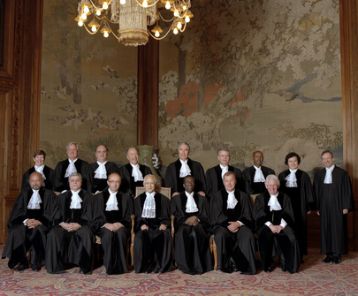 Members of the International Court of Justice